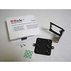 pcProx Black Flat & Angle Mounting Brackets