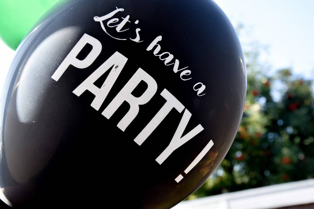 SuzyB Ballonnen Let's have a party!