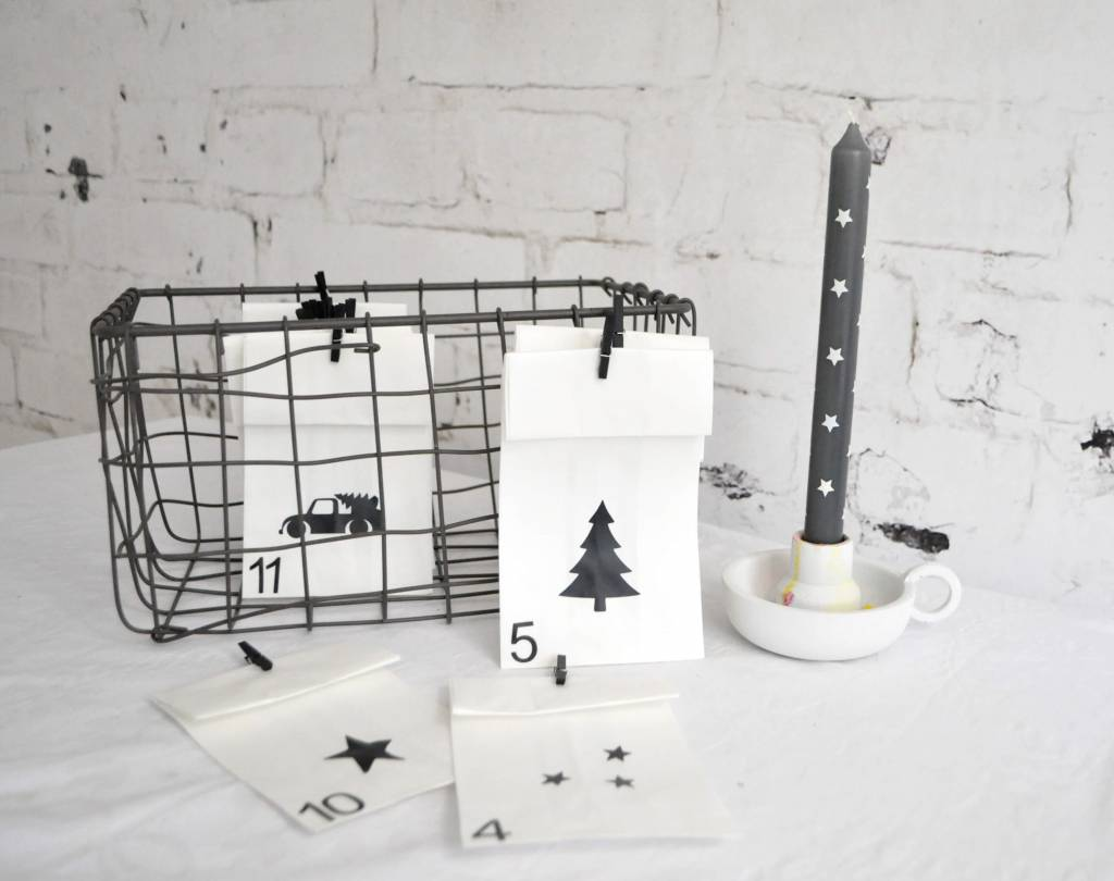 SuzyB Adventskalender DIY