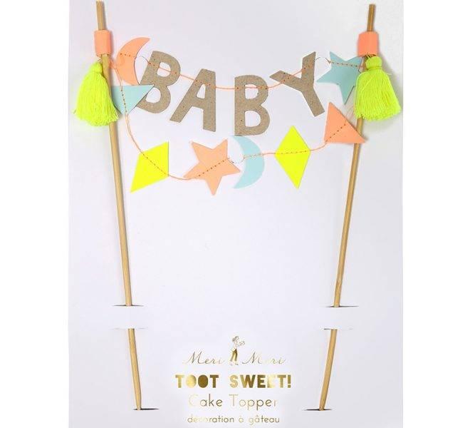 Meri meri Baby caketopper