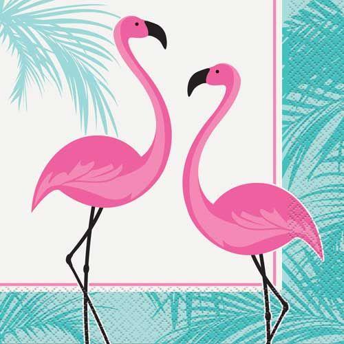 Flamingo servetten