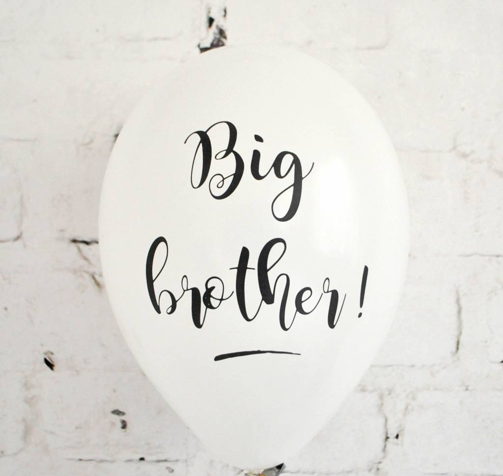 SuzyB Big brother ballonnen