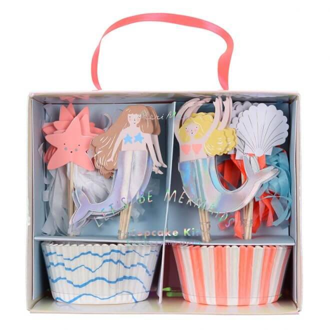 Let's be mermaid cupcakeset