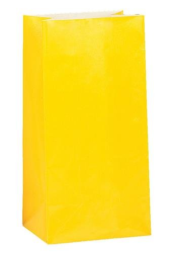 Traktatiezakjes geel