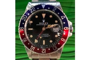 Rolex GMT Master Ref. 16750 LC100