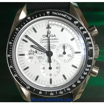 Omega Speedmaster Moon Watch Apollo 13 Silver Snoopy Award 2015 Full Set