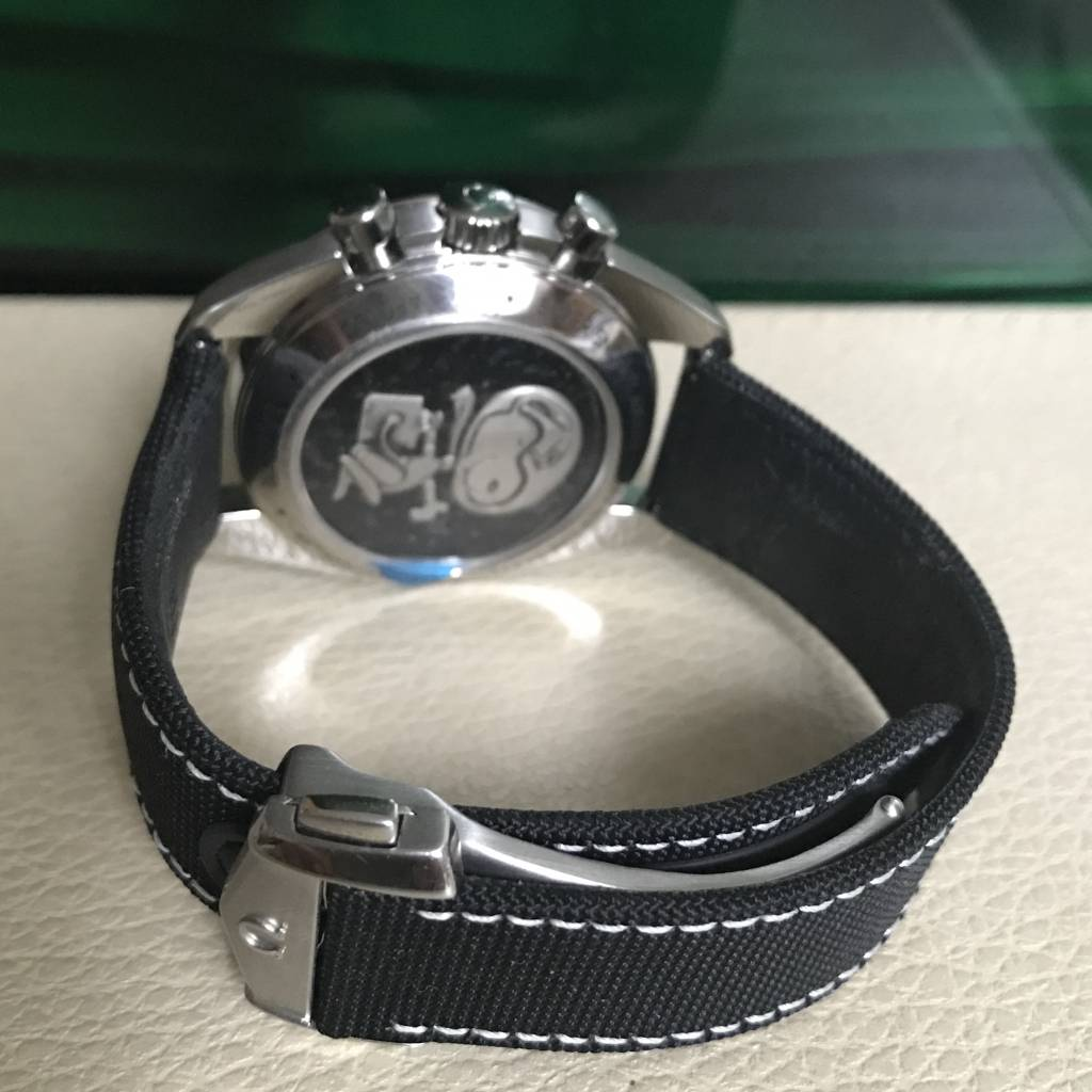 Omega Silver Snoopy