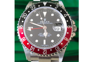 Rolex GMT-Master II Ref. 16710A Coke NOS