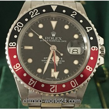 Rolex GMT - Master Ref. 16760 Fat Lady/amazing FULL SET /First Owner