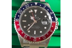 Rolex GMT-Master II Ref. 16710 Pepsi LC100