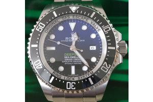 Rolex Deepsea D Blue Ref. 116660 unworn