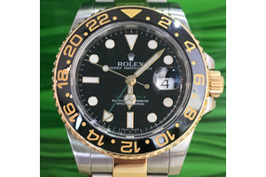 Rolex GMT - Master II Ref. 116713 LN LC100