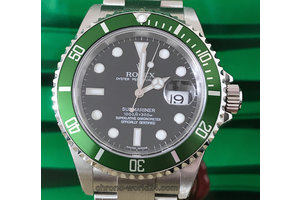 Rolex Submariner Date Ref.16610 LV Fat Four NOS