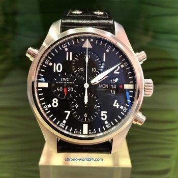 IWC Fliegeruhr Doppelchronograph Ref.3788 - 2017/Deutschland/ungetragen