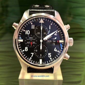 IWC Pilot's watch Doppelchronograph Ref.3788 - 2017 / Germany / unworn