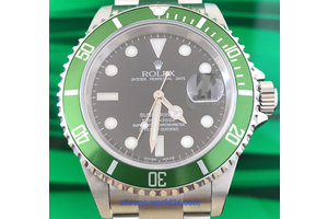 Rolex Submariner Date Ref.16610 LV Fat Four Y9...