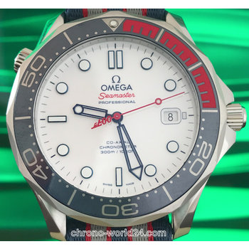 Omega Seamaster Diver 300m Co-Axial Commander´s Watch James Bond 007 Limitiert unworn box&papers