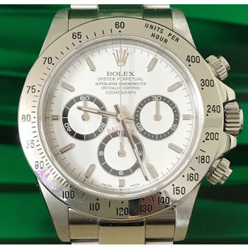 Rolex Daytona Zenith Ref. 16520 LC100 A9.. Serie Box/Papers TOP