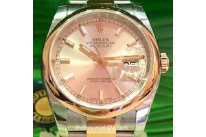 Rolex Oyster Perpetual Datejust Ref. 116201 Rose Blatt