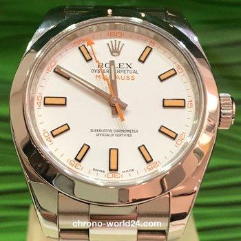 Rolex Milgauss Ref. 116400  Box/Papiere LC100/2011