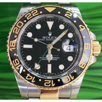 Rolex GMT - Master II Ref. 116713 LN LC100 Box/Papers 2013