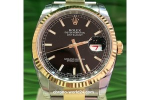 Rolex Oyster Perpetual Datejust Ref. 116233 black dial