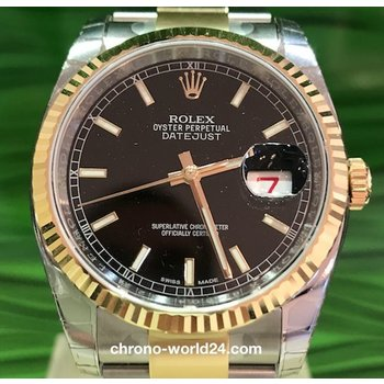 Rolex Datejust Ref. 116233 36mm LC100 Stahl-Gelbgold