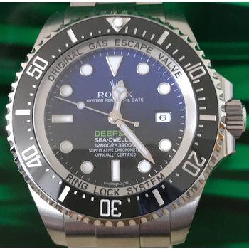 Rolex Deepsea D Blue Ref. 116660 ungetragen 12/2017