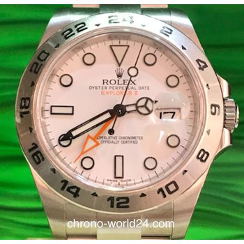 Rolex Explorer II Ref. 216570 Box Papers 2016 unworn