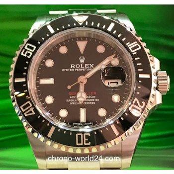 Rolex Sea-Dweller Single Red Ref. 126600  box papers 2017 unworn