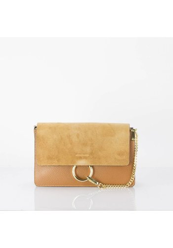 Madison -  Smooth leather with suède flap