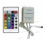 22 knops IR Ledstrip afstandsbediening en Ledstrip RGB controller 72 watt