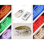 1 meter Led strip RGB multicolor met 60 leds per meter COMPLETE SET Met Touch Remote