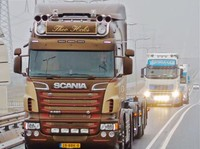 Scania R-Typ Highline Sonnenblende type 2-d