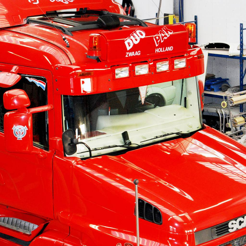 Scania 4-series Highline sun visor type 1c