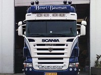 Scania R-series Highline sun visor type 1c