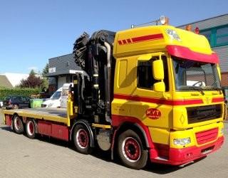DAF Trucks CF door extension