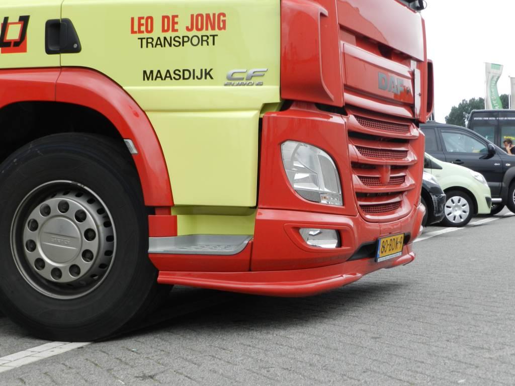 Door extensions low DAF CF Euro 6