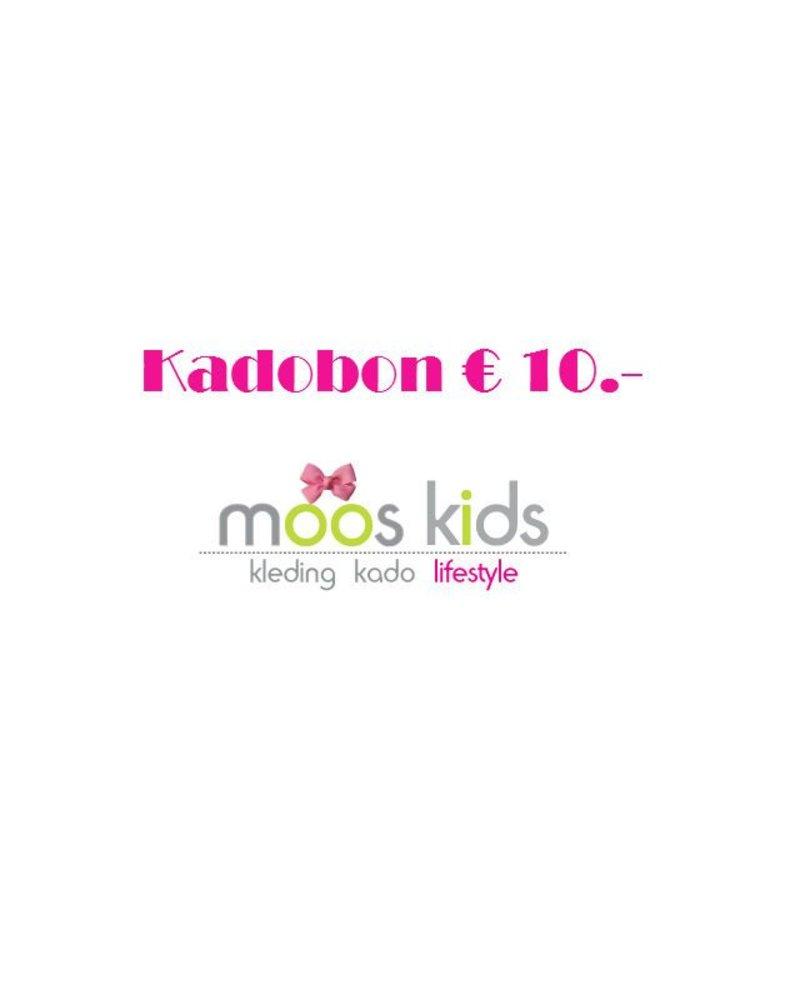 Kadobon 10,-