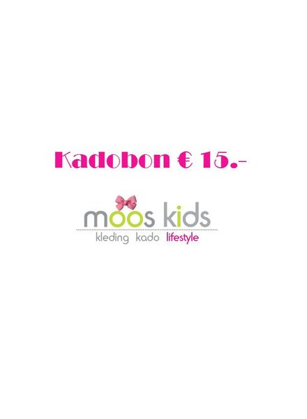 Kadobon (cadeaubon) 15,-