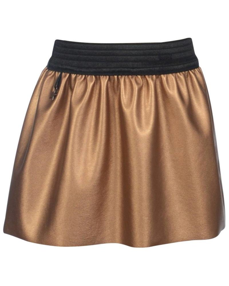KieStone Kiestone Skirt Metallic Copper