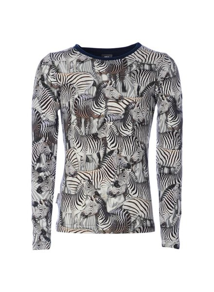 KieStone Kiestone Longsleeve Zebra