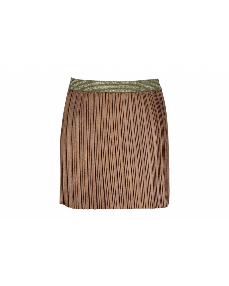 Like Flo Suede Look skirt