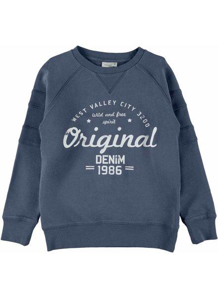 Name It NKM Jasper Sweater - Vintage Indigo