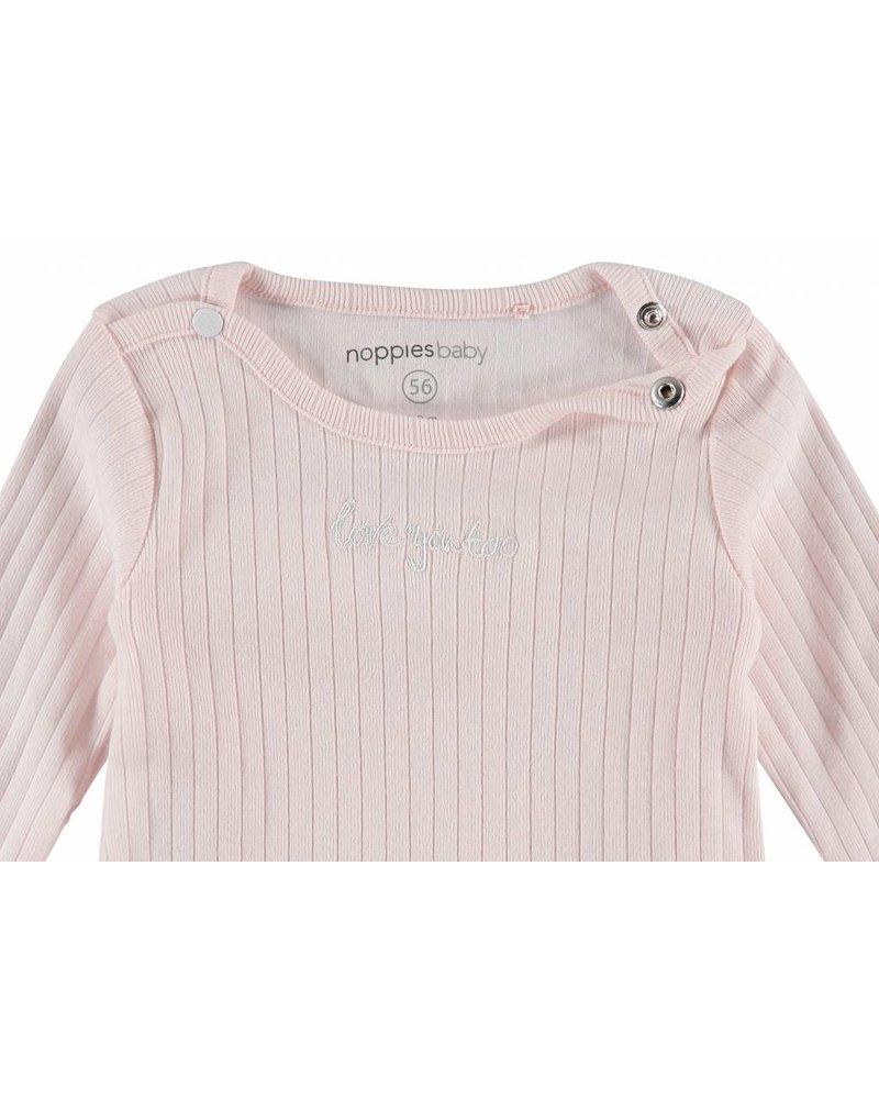 Noppies Tee Keansburg - light pink