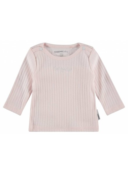 Noppies Tee Keansburg - light pink
