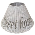 Sweet Living Witte Rieten Lampenkap 51 cm - Sweet Home