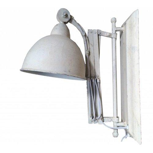 Sweet Living Metalen Wandlamp - Whitewash