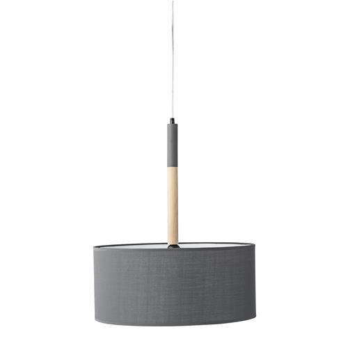 Hanglamp Hout Grijs Bloomingville