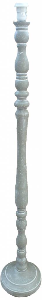 Greywash Houten Lampenvoet